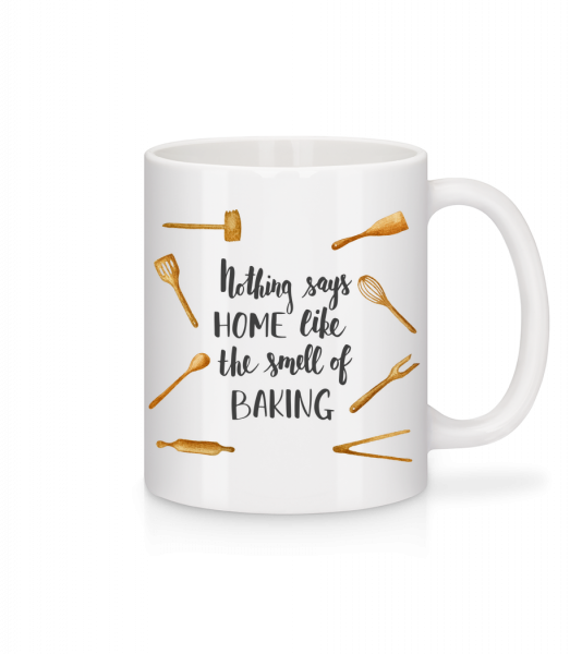 The Smell Of Baking - Mug - White - Vorn