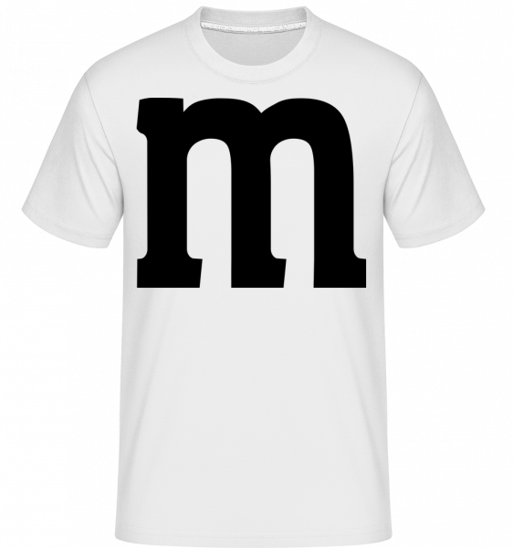 M -  Shirtinator Men's T-Shirt - White - Vorn