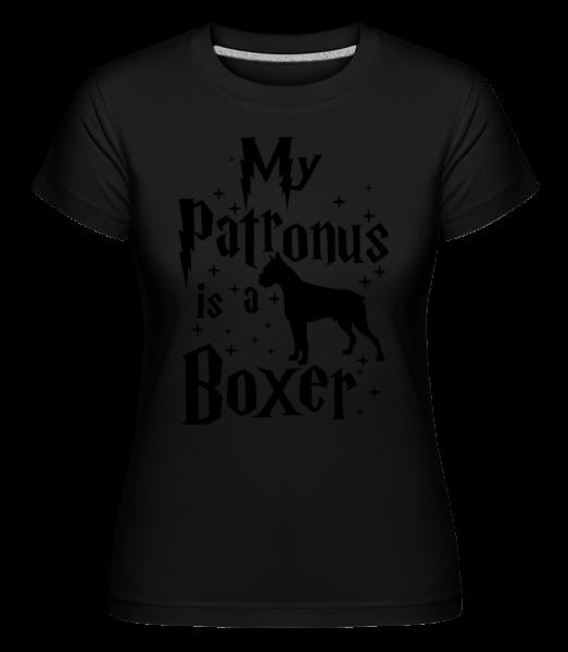 My Patronus Is A Boxer -  Shirtinator Women's T-Shirt - Black - Vorn