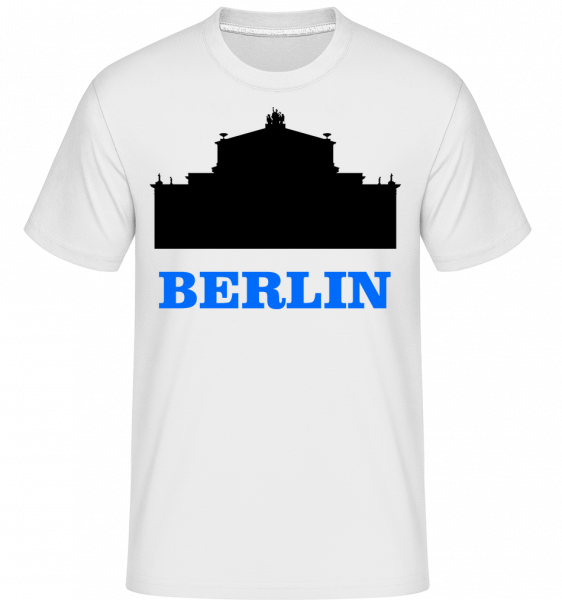 Berlin Skyline -  Shirtinator Men's T-Shirt - White - Vorn