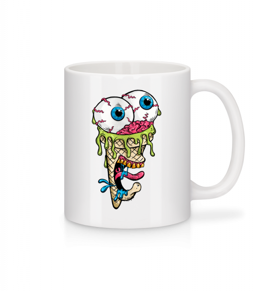 Horror Ice Cream - Mug - White - Vorn