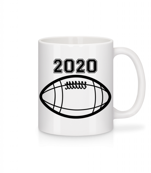Football 2020 - Mug - White - Vorn