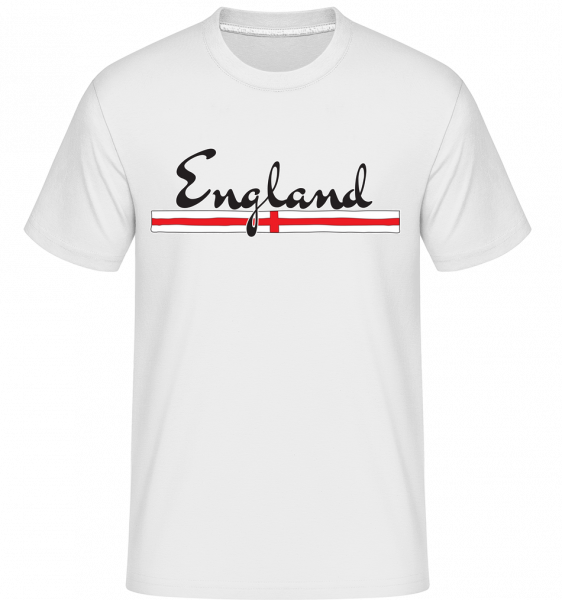 Football England -  Shirtinator Men's T-Shirt - White - Vorn