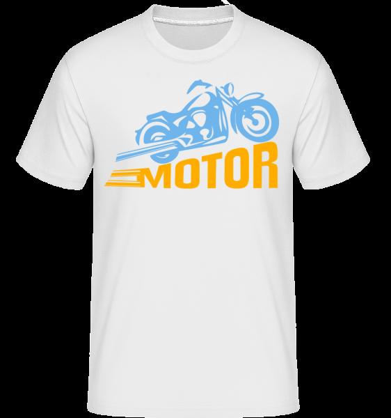 Motor -  Shirtinator Men's T-Shirt - White - Vorn