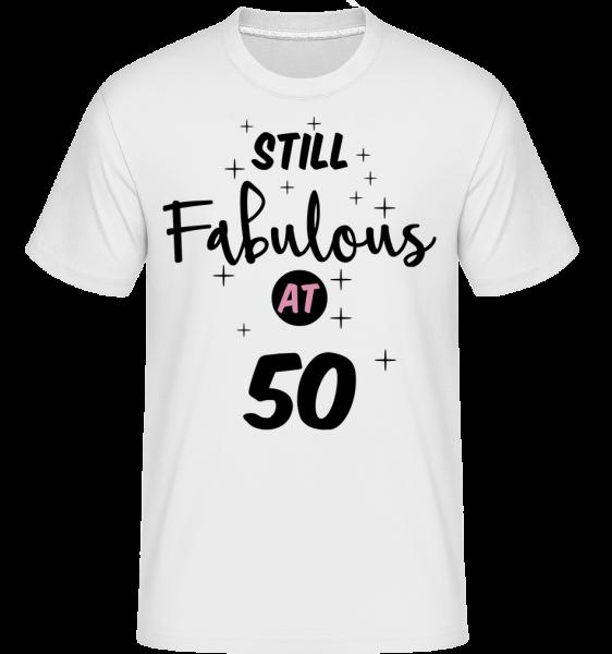 Still Fabulous At 50 - Shirtinator Men's T-Shirt - White - Vorn